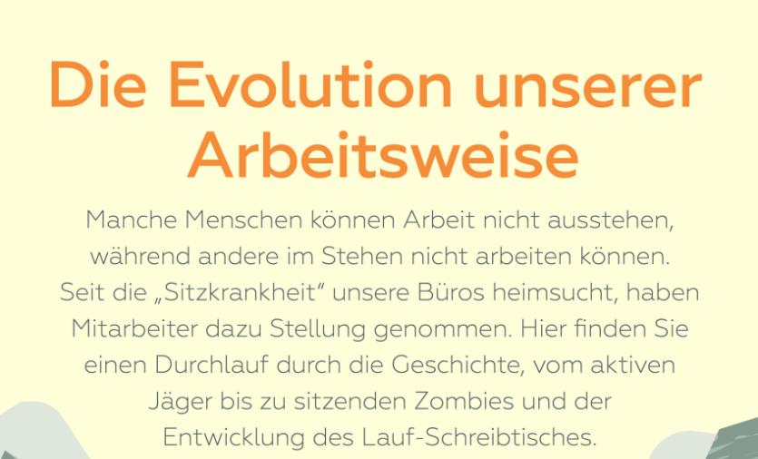 Die Evolution des Büro Menschen