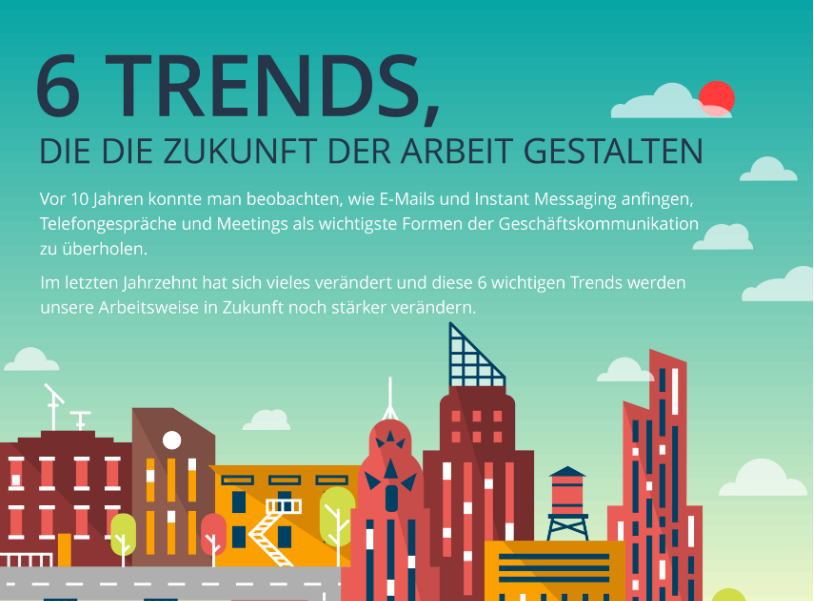 6 Trends, die die Zukunft der Arbeit gestalten