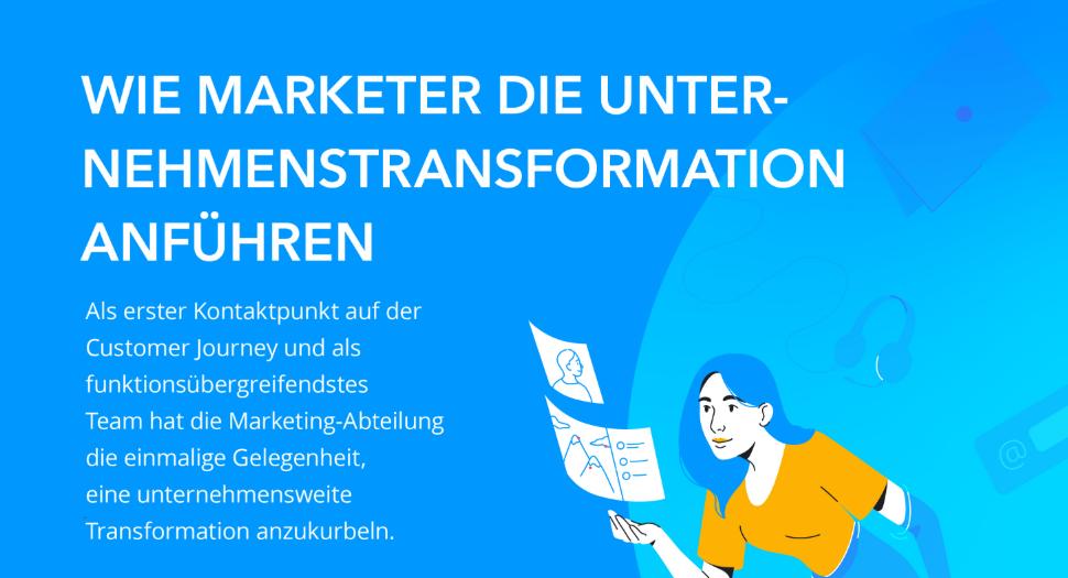 Wie Marketer die Unternehmenstransformation anführen